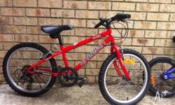 "Boy 16"" Cheetah bike with 6 gears in very good"