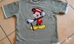 Size 8 ( 130cm ), Mickey Mouse T shirt. MICKEY KIDS