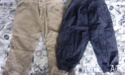 Boy's pants Size 9-12 mths from Mothercare are in good