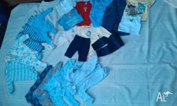 Boys baby clothes, all in excellent condition, sum