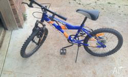 Boys mountain bike in good condition