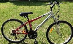 I have a boys 24 inch 18 speed Malvern star mountain