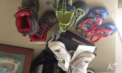 Several pairs of great used brand boys shoes 1. Size 7-