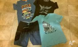 Boys size 12 - 2 tops Boys size 10 - 1 top and 1 pair