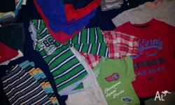 Boys clothes 12 - 18 months Lots of pairs of shorts.
