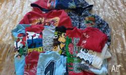 Bag of boys clothing size 3-5 (suit 4). Mostly BEN 10.