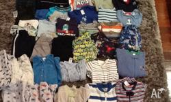 Boys clothing size 1 in good condition. Brands include