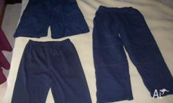 1 x Size 8 trackpants 2 x Size 10 Shorts all in EC $6
