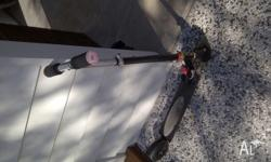 A boys Razor scootbike for sale. Handy for scooting