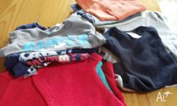 Lot 3 2 towelling short sleeve suits new 4 as new