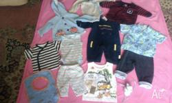 I HAVE A BUNDLE OF SIZE 000 BOYS CLOTHES FOR SALE MADE