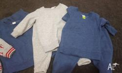 Track pant & jumper sets $1.50 each (3) Fox pant &