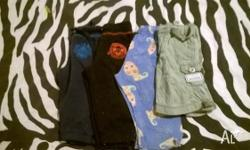 2 pair of pants 1 pj pants and 1 pair of shorts. All in