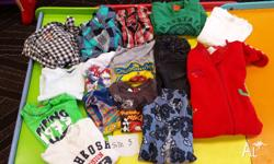 Boys Clothes, Size 3. Various brands including: Target,
