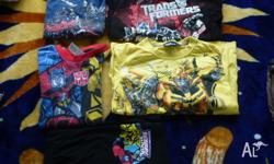 transformer summer pjs size 7 2 long sleeved shirts