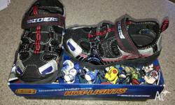 Toddler boys Skechers as new light up ! Still have the