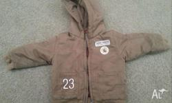 On offer are 4 jackets 1 Denim Wiggles jacket sz 2- $4
