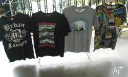 4 x T'shirts Approx size 12 $10 the lot