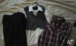 Boys wedding package. $12 a set. I have 3 sizes 6-8,