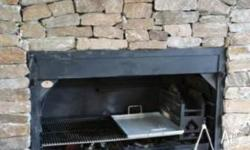 Cooking with Fire..... Super deluxe built in Braai,BBQ,