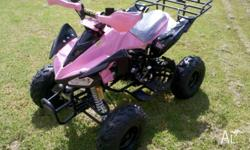 Brand New and Ready to Go, 125cc Quads Automatic,