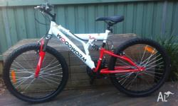 This is a box-fresh 24' Woodworm mountain bike that I