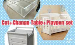 Price: FROM:$120 Playpen Only:120 Playpen COT:470