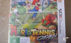 I have a brand new Mario Tennis Open that's been an