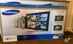 This beautiful 40'' flat screen was bought brand new
