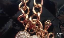Brand New accessory Bracelet - heart key toggle