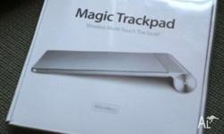 Brand new Apple Magic Trackpad in sealed packaging.