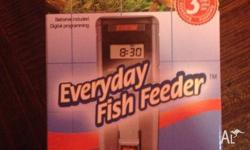 Automatic fish feeder - bought this when we set up our