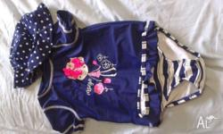 Brand new never worn set of baby swimmers. Size 1.