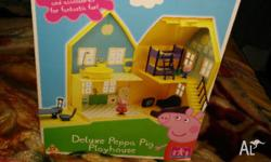 Got this Deluxe Peppa pig playhouse as a gift We are