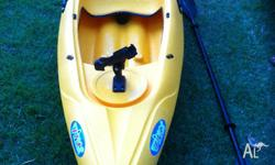 Brand new fishing kayak. 2.9 metres long, 23kg,includes