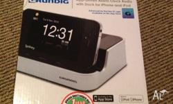 Selling Grundig App-Driven Alarm Clock Radio w/ Dock