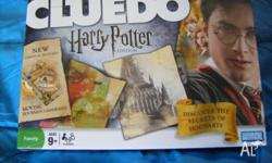 Still sealed in plastic - brand new Harry Potter Cluedo