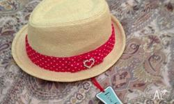 Brand new with tags & unworn Girls fedora hat size