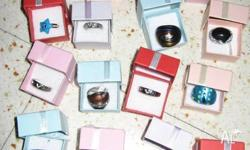 BRAND NEW IN GIFT BOXES VARIOUS STYLE RINGS INCLUDING