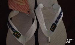 Brand new with tags Havaianas Size US23-24 RRP
