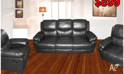 Different Styles of Recliner Sofa suites in Bonded
