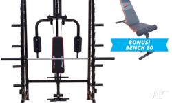 The POWER GYM is the ultimate workout station for users