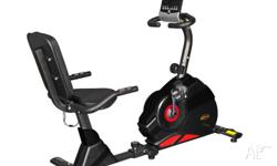 The RC99 is a recumbent exercise bike. This provides a