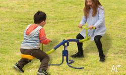 Free standing Seesaw, Rotates 360° - Galvanised high