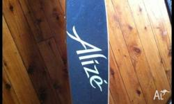BRAND NEW ALIZE[ LONG BOARD] SKATEBOARD STILL IN THE