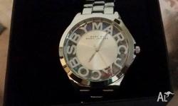 Brand new Marc Jacobs Womens/Ladies silver watch Brand