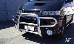 Lightweight and extremely durable - This bullbar offers