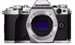 Selling BRAND NEW Olympus OMD E-M5 MKII Silver colour