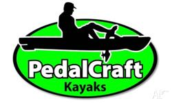 This brand new Pedal Kayak by PEDALCRAFT KAYAKS boasts