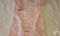 Very cute and snuggly polar fleece sleeping bag, with